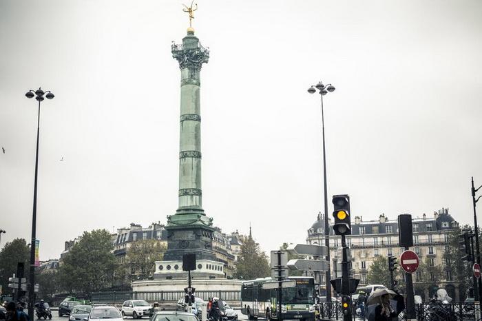 Париж: район Бастилия