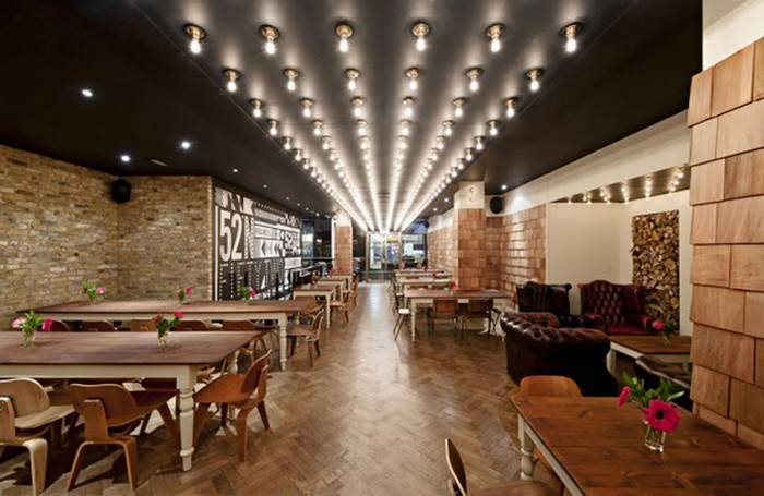 Ресторан 52 North in Soho в Лондоне