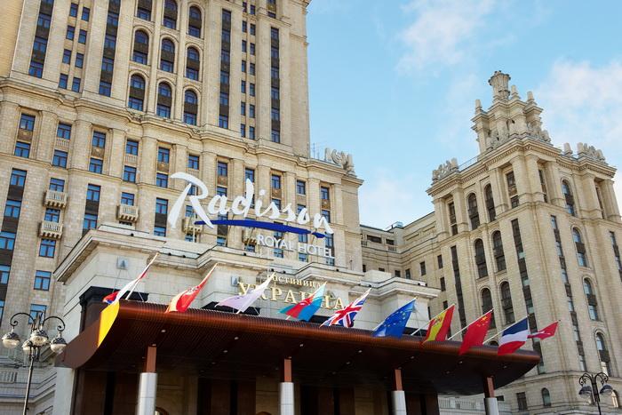 Заслуженная награда отеля «Рэдиссон Ройал, Москва»