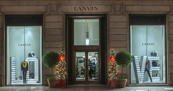 Витрины Lanvin в Париже