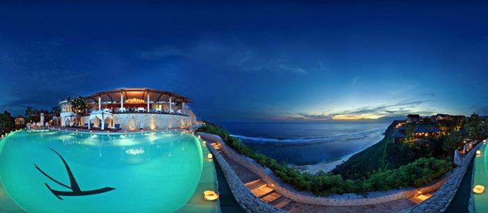 Отель с панорамными видами Karma Kandara на Бали