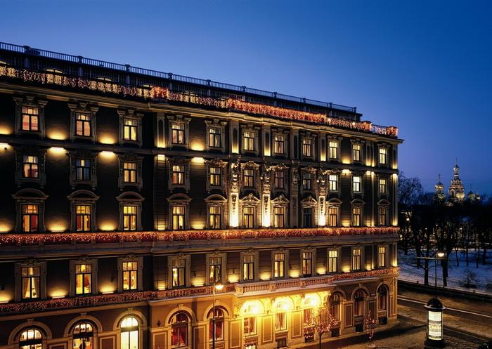 Гранд Отель Европа приступает к обновлению