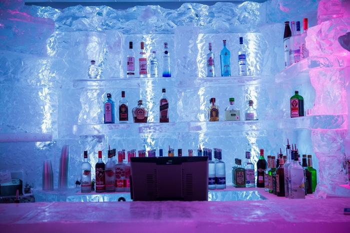 Ледяной бар в Нью-Йорке