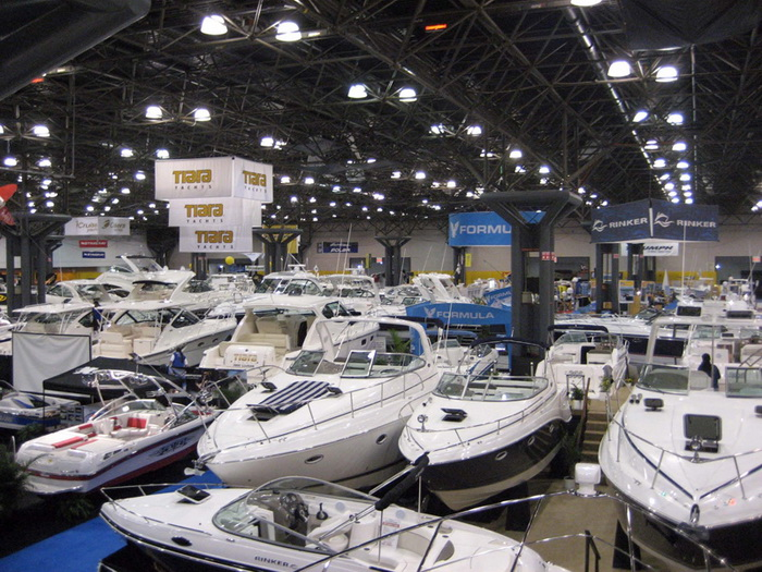 Ежегодное Яхт-шоу в Нью-Йорке