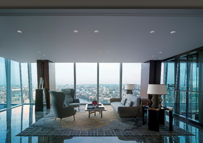 Открытие Shangri-La Hotel At The Shard в Лондоне