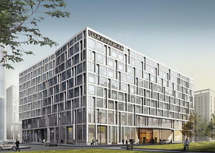 Отель Steigenberger Hotel Am Kanzleramt открылся в Берлине