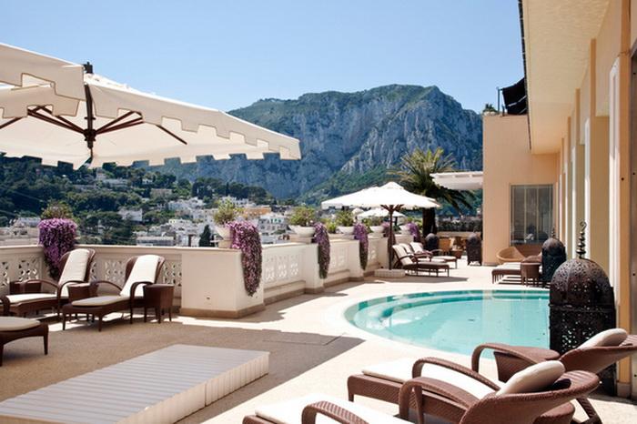 Отель Capri Tiberio Palace в Италии