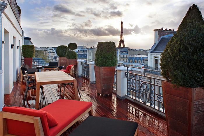 Отель Marignan в Париже