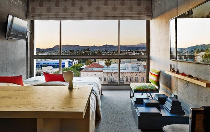 The Line: Новый отель в Лос-Анджелесе