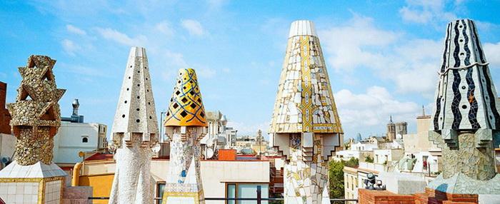 Атмосфера Барселоны в панорамах Александра Мец