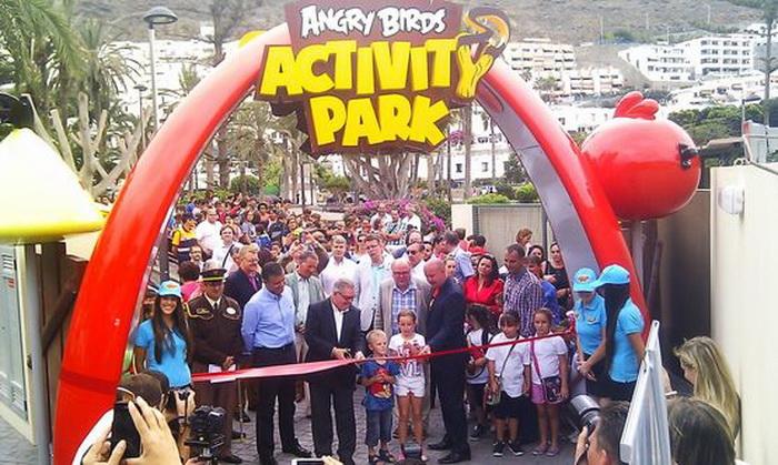 Angry Birds пришли на Канары