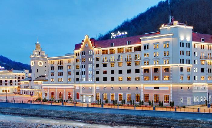 Отель Radisson Роза Хутор признан лучшим горнолыжным отелем 2014 года в России по версии World Ski Awards