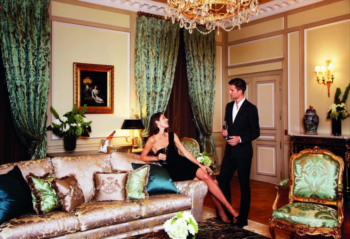 День Святого Валентина в Le Meurice - одном из самых романтичных отелей Парижа