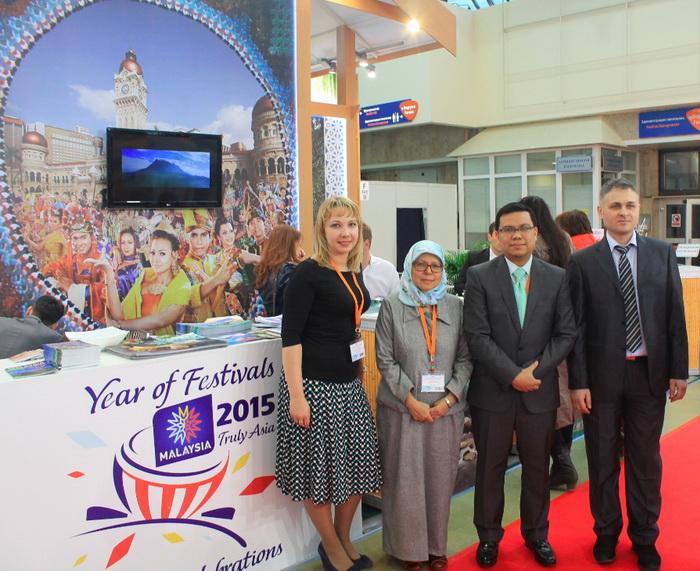 Национальное туристическое представительство Малайзии приняло участие в выставке туризма MITT 2015