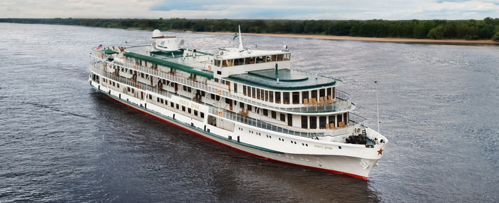 Круизы премиум-класса Volga Dream по рекам России впервые доступны для российских путешественников